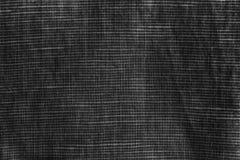 Monokrom närbildtextur, linnebakgrund, linyttersidanivå, tygprovkarta Arkivfoton
