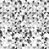 Monokrom sömlös vektorbakgrund - Royaltyfria Bilder