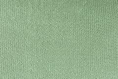 Monokrom textur av handarbete Härlig tom bakgrund med öglor Den stack produkten är grön fotografering för bildbyråer