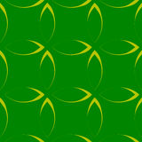 Monokrom upprepande modell med kronblad-/blomma-/bladformer stock illustrationer