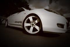 monokromt hjul Royaltyfria Bilder