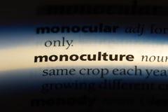 monokultur stockfotografie