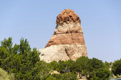 Monolit i monumentdalen Arkivbilder
