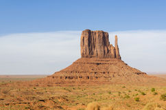 Monolit i monumentdalen Arkivfoto