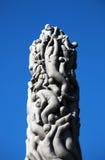 Monolit skulptur Royaltyfri Fotografi