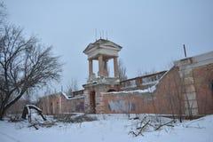 Monolit stadion, Volgograd Fotografering för Bildbyråer