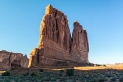 Monolith, Arches National Park Stock Photos