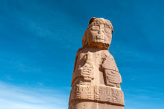 Free Monolith At Tiwanaku, Titicaca, Bolivia Royalty Free Stock Photography - 53365497