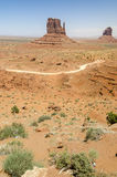 Monolith in Monument Valley Royalty Free Stock Photography