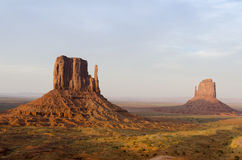 Monolith in Monument Valley Royalty Free Stock Photos