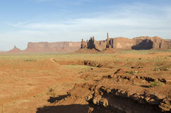 Monolith in Monument Valley Royalty Free Stock Photo