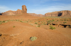 Monolith in Monument Valley Stock Images