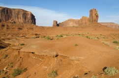 Monolith in Monument Valley Stock Photo