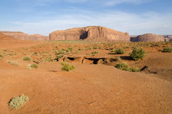 Monolith in Monument Valley Stock Image