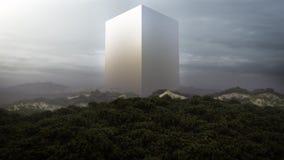 Monolithe étrange illustration libre de droits