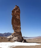 Monolithe géologique Photo libre de droits