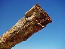 Monolithe superficiel par les agents Photo libre de droits
