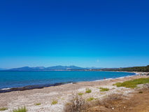 Monolithi beach in Preveza Royalty Free Stock Image