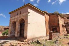 Monolithic church, Ethiopia, Africa. Monolithic church Abreha Atsbeha, Tigray, Ethiopia, Africa Stock Images