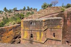 Monolithic church, Ethiopia, Africa Stock Images