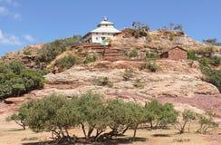 Monolithic church, Ethiopia, Africa Stock Image