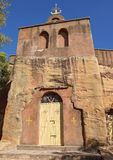Monolithic church, Ethiopia, Africa Royalty Free Stock Photography