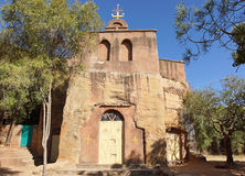 Monolithic church, Ethiopia, Africa Royalty Free Stock Photos