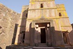 Monolithic Church, Lalibela Stock Image