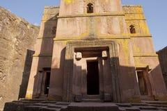 Monolithic Church, Lalibela Royalty Free Stock Images