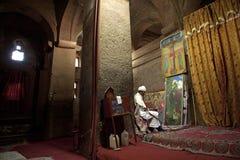 Monolithic Church, Lalibela Stock Images
