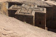 Monolithic Church, Lalibela Royalty Free Stock Image