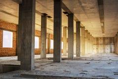 Monolithic concrete columns Royalty Free Stock Photo