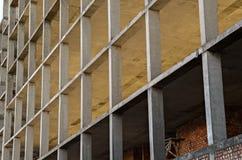 Monolithic concrete columns Stock Images