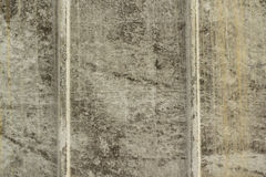 Monolithic reinforced concrete slab Royalty Free Stock Photos