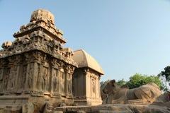Monolithische Tempel Stock Afbeelding