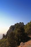 Monolithos Castle Stock Image