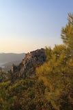 Monolithos Castle Stock Photography