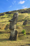 Monoliths at Easter Island Stock Image