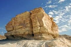Monolitico nel Negev Fotografie Stock