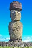 monolitiska statyer chile för mänsklig moai Royaltyfri Foto