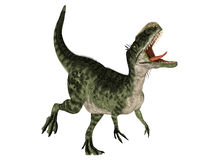 Monolophosaurus ilustração royalty free