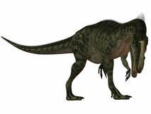 Monolophosaurus-3D Dinosaur Royalty Free Stock Photos