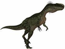 Monolophosaurus-3D Dinosaur Royalty Free Stock Image