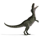 monolophosaurus de dinosaur Photo libre de droits