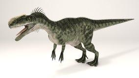 Monolophosaurus-dinossauro ilustração royalty free