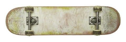Monopatín en blanco Imagen de archivo libre de regalías