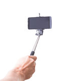 Monopiede di Selfie Fotografie Stock