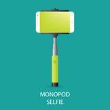 Monopod Selfie Stock Image