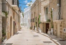 Monopoli, провинция Бари, Apulia, южная Италия Стоковое фото RF
