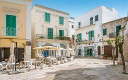 Monopoli, провинция Бари, Apulia, южная Италия Стоковое Фото